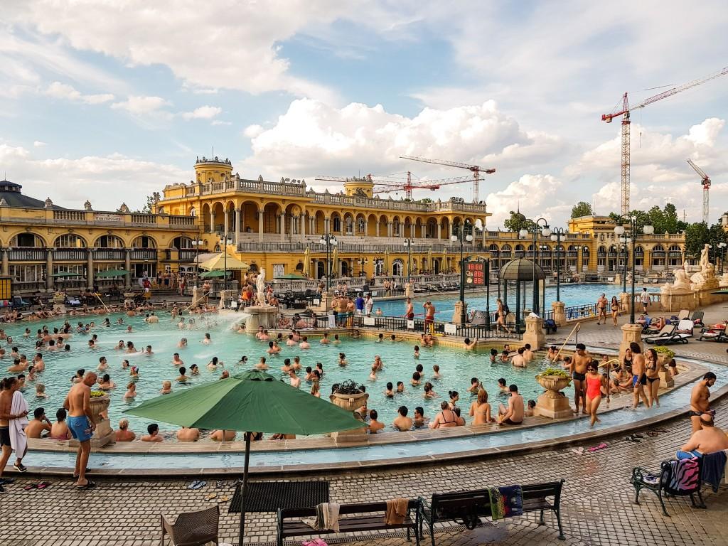Szechenyi Thermal Bath, Budapest, 2018